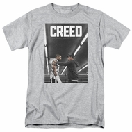 Creed Shirt Movie Poster Athletic Heather T-Shirt