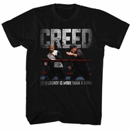 Creed Shirt Sparring Black T-Shirt