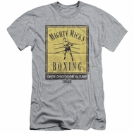 Creed Slim Fit Shirt Micks Poster Athletic Heather T-Shirt