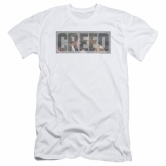 Creed Slim Fit Shirt Pep Talk White T-Shirt