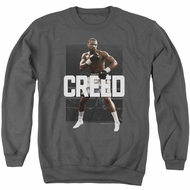 Creed Sweatshirt Adonis Johnson Final Round Adult Charcoal Sweat Shirt