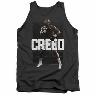 Creed Tank Top Adonis Johnson Final Round Charcoal Tanktop