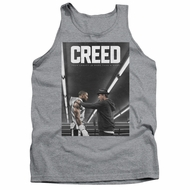 Creed Tank Top Movie Poster Athletic Heather Tanktop