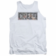 Creed Tank Top Pep Talk White Tanktop