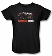 Criminal Minds Ladies T-shirt The Brain Trust TV Show Black Tee Shirt
