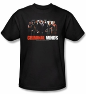 Criminal Minds Youth T-shirt The Brain Trust Kids Black Tee Shirt