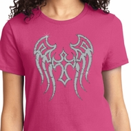 Cross Wings Ladies Biker Shirts