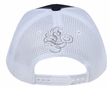 Crowned Princess Hat with Rhinestones - Mesh Back Lackpard Cap - Gray