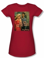 Cry Baby Juniors T-shirt Movie Kiss Me Red Tee Shirt
