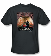 Cry Baby T-shirt Movie The Drapes Adult Charcoal Tee Shirt