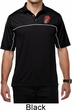 Crystal Tongue Patch Pocket Print Mens Polo Shirt