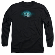 CSI Cyber Shirt The Thumb Print Long Sleeve Black Tee T-Shirt