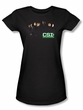 CSI Juniors Shirt Shadow Cast Girly Black Tee