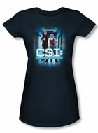 CSI Juniors T-shirt Serious Business Navy Tee
