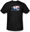 CSI Kids T-shirt New York Subway Youth Black Tee