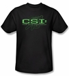 CSI Kids T-shirt Sketchy Shadow Youth Black Tee