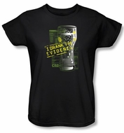 CSI Ladies T-shirt I Drank The Evidence Black Tee