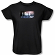 CSI Ladies T-shirt New York Subway Black Tee