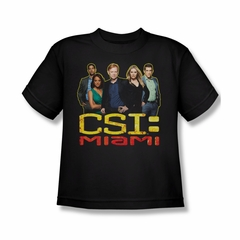 CSI Miami Cast Shirt Kids Shirt Youth Tee T-Shirt