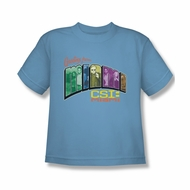 CSI Miami Greetings Shirt Kids Shirt Youth Tee T-Shirt