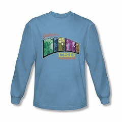 CSI Miami Greetings Shirt Long Sleeve Tee T-Shirt