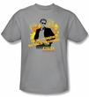 CSI: Miami Kids Shirt Hand On Hips Youth Silver T-Shirt