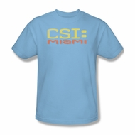 CSI Miami Logo Shirt Adult Tee T-Shirt