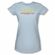 CSI Miami Logo Shirt Juniors Shirt Tee T-Shirt