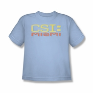 CSI Miami Logo Shirt Kids Shirt Youth Tee T-Shirt