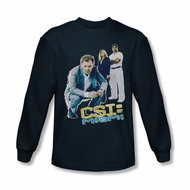 CSI Miami Perspective Shirt Long Sleeve Tee T-Shirt