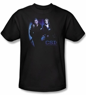 CSI T-shirt - At The Scene Adult Black Tee