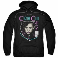 Culture Club Hoodie Color By Numbers Black Sweatshirt Hoody