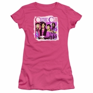 Culture Club Juniors Shirt Band Photo Hot Pink T-Shirt