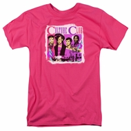 Culture Club Shirt Band Photo Hot Pink T-Shirt