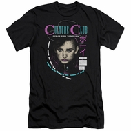 Culture Club Slim Fit Shirt Color By Numbers Black T-Shirt