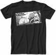 Curb Your Enthusiasm T-shirt Front Seat Adult Black Tee