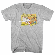 Danger Mouse Shirt Run For It Athletic Heather T-Shirt