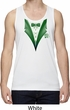 Dark Green Tuxedo Mens Moisture Wicking Tanktop