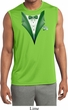 Dark Green Tuxedo Mens Sleeveless Moisture Wicking Shirt