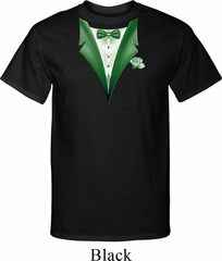 Dark Green Tuxedo Mens Tall Shirt