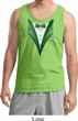 Dark Green Tuxedo Mens Tank Top