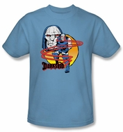 Darkseid T-shirt - Not Amused DC Comics Adult Carolina Blue Tee