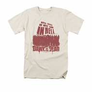 Dawn Of The Dead Shirt No More Room Adult Cream Tee T-Shirt