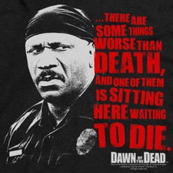 Dawn Of The Dead Worse Than Death Shirts