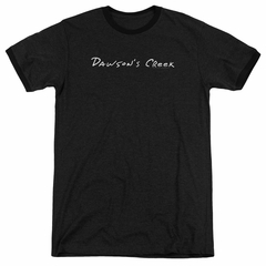 Dawson's Creek Logo Black Ringer Shirt