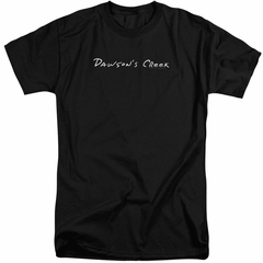 Dawson's Creek Shirt Logo Black Tall T-Shirt