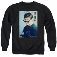 Dawson's Creek Sweatshirt Cool Pacey Adult Black Sweat Shirt