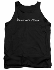 Dawson's Creek Tank Top Logo Black Tanktop
