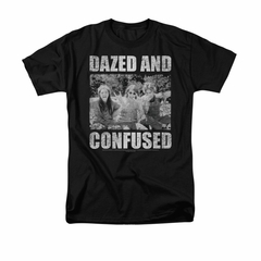 Dazed And Confused Shirt Rock On Adult Black Tee T-Shirt