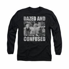 Dazed And Confused Shirt Rock On Long Sleeve Black Tee T-Shirt